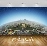 Avikalp Exclusive Awi1375 View From The Eiffel Tower Full HD Wallpapers for Living room, Hall, Kids