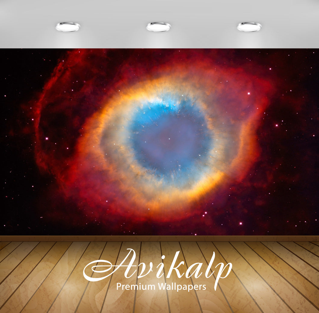 Avikalp Exclusive Awi1397 Galaxy Eye Of God Full HD Wallpapers for Living room, Hall, Kids Room, Kit