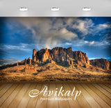Avikalp Exclusive Awi1406 Superstition Mountains Full HD Wallpapers for Living room, Hall, Kids Room