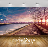 Avikalp Exclusive Awi1418 Road To City Full HD Wallpapers for Living room, Hall, Kids Room, Kitchen,
