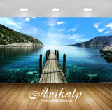 Avikalp Exclusive Awi1454 Greece Nature Beauty Full HD Wallpapers for Living room, Hall, Kids Room,