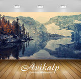 Avikalp Exclusive Awi1471 Lake Mountain Landscape Full HD Wallpapers for Living room, Hall, Kids Roo