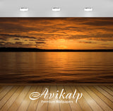 Avikalp Exclusive Awi1479 Beautiful Sunset Full HD Wallpapers for Living room, Hall, Kids Room, Kitc