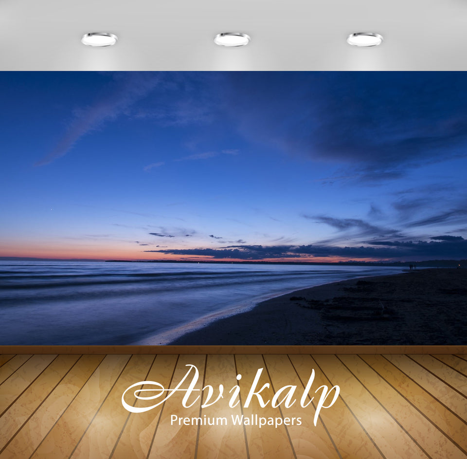 Avikalp Exclusive Awi1544 Beautiful Beach Full HD Wallpapers for Living room, Hall, Kids Room, Kitch