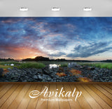Avikalp Exclusive Awi1575 Beautiful Scenery Full HD Wallpapers for Living room, Hall, Kids Room, Kit