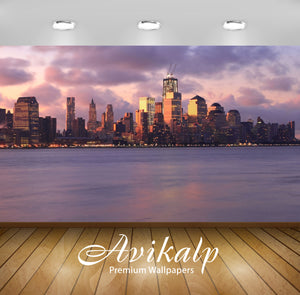 Avikalp Exclusive Awi1578 New York City Full HD Wallpapers for Living room, Hall, Kids Room, Kitchen