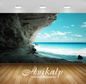 Avikalp Exclusive Awi1587 Beautiful Sea Shore Full HD Wallpapers for Living room, Hall, Kids Room, K