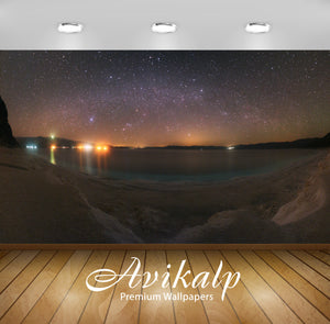 Avikalp Exclusive Awi1607 Beautiful Stars Lights Full HD Wallpapers for Living room, Hall, Kids Room