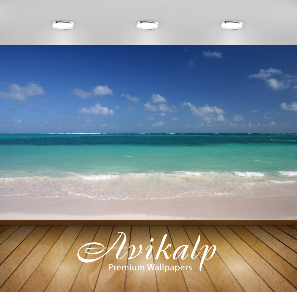 Avikalp Exclusive Awi1630 Beautiful Beach Full HD Wallpapers for Living room, Hall, Kids Room, Kitch
