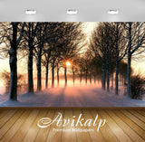 Avikalp Exclusive Awi1639 Beautiful Sunrise Full HD Wallpapers for Living room, Hall, Kids Room, Kit