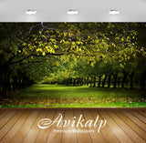 Avikalp Exclusive Awi1664 Nature Greenery Full HD Wallpapers for Living room, Hall, Kids Room, Kitch