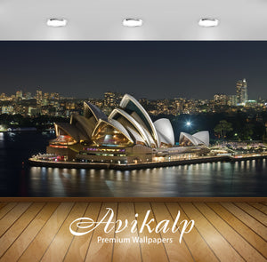 Avikalp Exclusive Awi1688 Beautiful Australia City View Full HD Wallpapers for Living room, Hall, Ki
