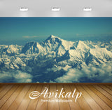 Avikalp Exclusive Awi1690 Snowy Mountains Full HD Wallpapers for Living room, Hall, Kids Room, Kitch