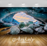 Avikalp Exclusive Awi1726 Ice Cave In Skaftafell Iceland Full HD Wallpapers for Living room, Hall, K