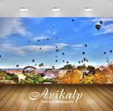 Avikalp Exclusive Awi1743 Hot Air Ballooning Full HD Wallpapers for Living room, Hall, Kids Room, Ki