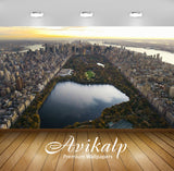 Avikalp Exclusive Awi1805 Beautiful New York City Full HD Wallpapers for Living room, Hall, Kids Roo