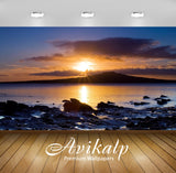 Avikalp Exclusive Awi1852 Beautiful Sunrise Nature Full HD Wallpapers for Living room, Hall, Kids Ro