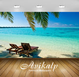 Avikalp Exclusive Awi1893 Beautiful Beach Full HD Wallpapers for Living room, Hall, Kids Room, Kitch