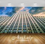 Avikalp Exclusive Awi1935 Empire State Building Windows Full HD Wallpapers for Living room, Hall, Ki