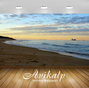 Avikalp Exclusive Awi1988 Beach Full HD Wallpapers for Living room, Hall, Kids Room, Kitchen, TV Bac