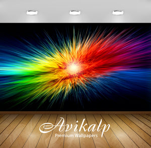 Avikalp Exclusive Awi2010 Color Abstract Full HD Wallpapers for Living room, Hall, Kids Room, Kitche