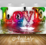 Avikalp Exclusive Awi2036 Beautiful Love  Full HD Wallpapers for Living room, Hall, Kids Room, Kitch