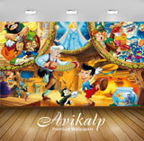 Avikalp Exclusive Awi2128 Pinocchio And Clementoni Puzzle Classic Walt Disney  Full HD Wallpapers fo