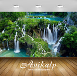 Avikalp Exclusive Awi2136 Plitvice Lakes National Park Croatia Cascading Waterfall  Full HD Wallpape