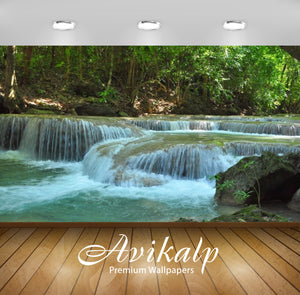 Avikalp Exclusive Awi2143 River Waterfall National Park Kanchanaburi  Full HD Wallpapers for Living