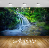 Avikalp Exclusive Awi2152 Thailand Waterfall Forest River Green Grass  Full HD Wallpapers for Living