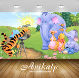 Avikalp Exclusive Awi2170 Tigger Shooting Heffalumps Winnie The Pooh Disney  Full HD Wallpapers for