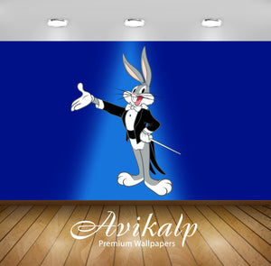Avikalp Exclusive Awi2201 Bugs Bunny Conductor of the Symphony orchestra Full HD Wallpapers for Livi