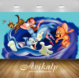 Avikalp Exclusive Awi2246 Tom and Jerry and The Wizard of Oz Full HD Wallpapers for Living room, Hal