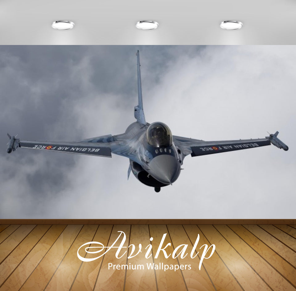 Avikalp Exclusive Awi2361 Air Force Modern Aircraft Full HD Wallpapers for Living room, Hall, Kids R