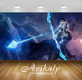 Avikalp Exclusive Awi2389 Ashe Fan Art Heroine League Of Legends Video Game Full HD Wallpapers for L