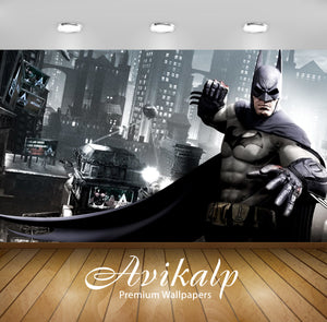 Avikalp Exclusive Awi2411 Batman Arkham City Fist Full HD Wallpapers for Living room, Hall, Kids Roo