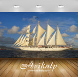 Avikalp Exclusive Awi2422 Beautiful Boat Star Clippers Full HD Wallpapers for Living room, Hall, Kid