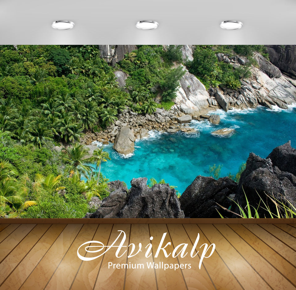 Avikalp Exclusive Awi2426 Beautiful Islands Of Seychelle Tropics Islands In Indian Ocean Beach Full