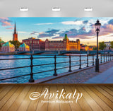 Avikalp Exclusive Awi2441 Bigstock Scenic Sunset In Stockholm Full HD Wallpapers for Living room, Ha