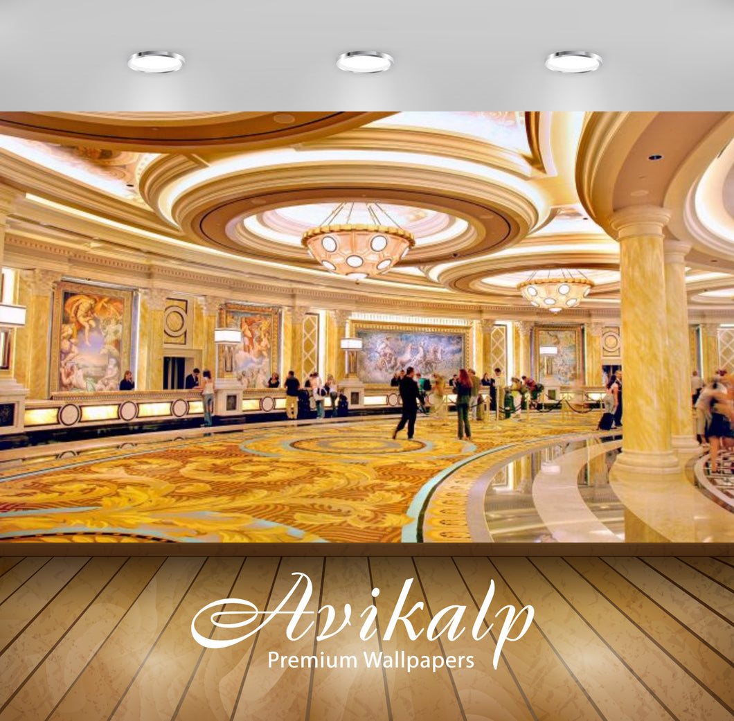 Avikalp Exclusive Awi2469 Caesars Palace Hotel Las Vegas Luxury Hotel Overlooking The Indoor Full HD