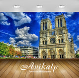 Avikalp Exclusive Awi2494 Chatnedral Nutri Paris France Full HD Wallpapers for Living room, Hall, Ki