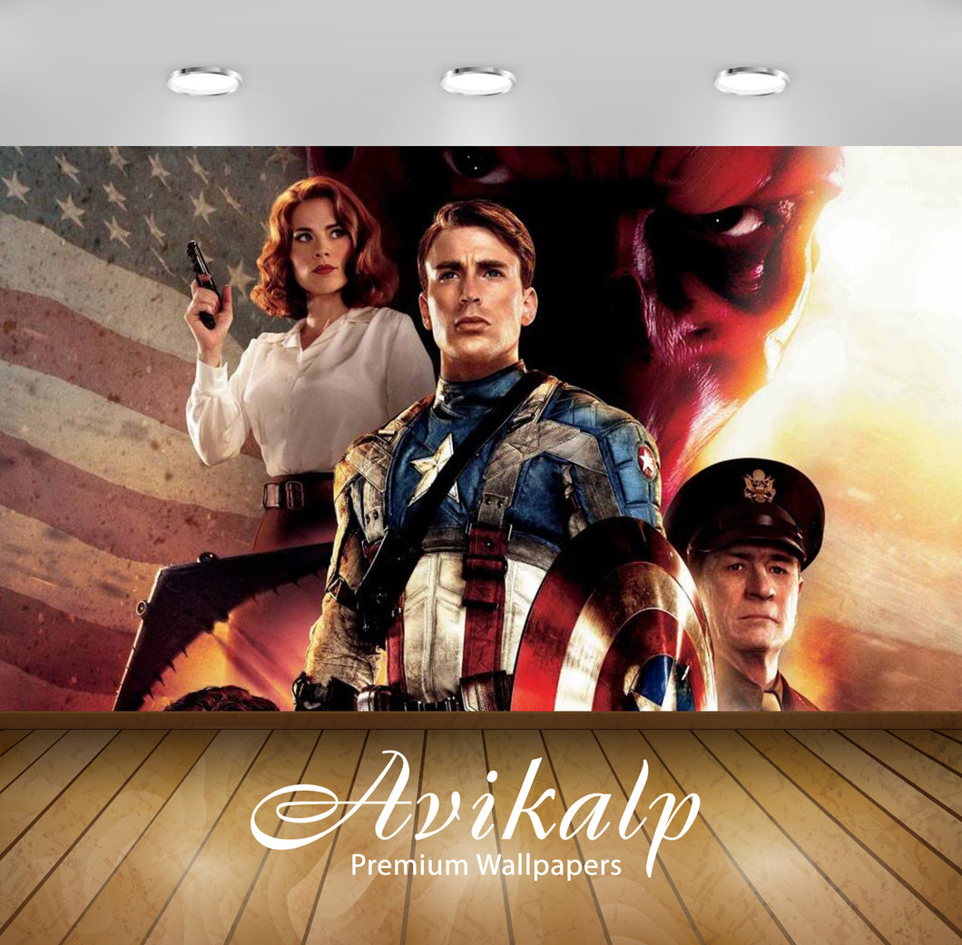 Avikalp Exclusive Awi2504 Civil War Captain America Chris Evans Full HD Wallpapers for Living room,