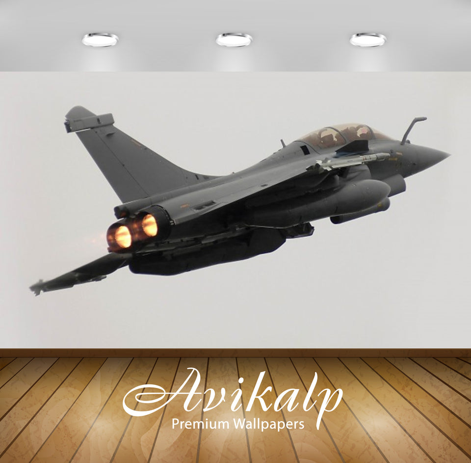 Avikalp Exclusive Awi2548 Dassault Rafale 03 Military Aircraft Full HD Wallpapers for Living room, H