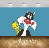 Avikalp Exclusive Awi2552 Looney Tunes Tweety And Sylvester Cat Cartoons Full HD Wallpapers for Livi