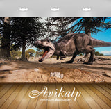 Avikalp Exclusive Awi2553 Dinosaur Patagonia Full HD Wallpapers for Living room, Hall, Kids Room, Ki