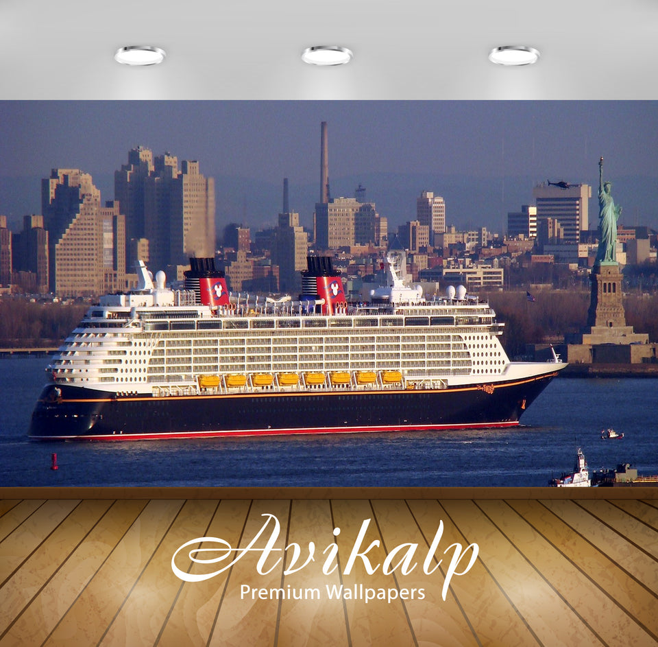 Avikalp Exclusive Awi2561 Disney Fantasy Arriving In New York Full HD Wallpapers for Living room, Ha