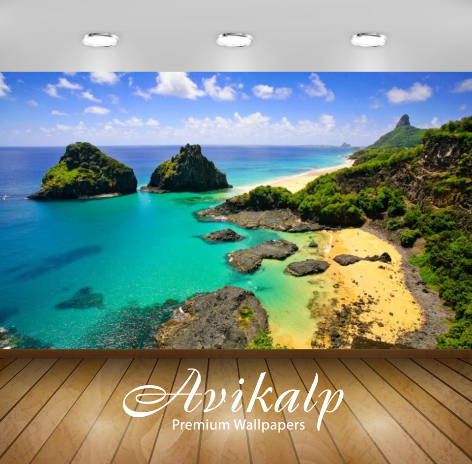 Avikalp Exclusive Awi2618 Fernando De Noronha A Volcanic Archipelago About 350 Kilometers From The N