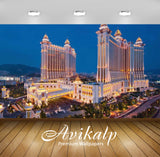 Avikalp Exclusive Awi2647 Galaxy Hotel Macau China Lights Full HD Wallpapers for Living room, Hall,