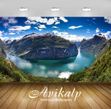 Avikalp Exclusive Awi2663 Geirangerfjords Fjord In The Sunnmore Region Of The Romsdal Norway Distric