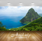 Avikalp Exclusive Awi2688 Gros Piton Mountain Climb St. Lucia Full HD Wallpapers for Living room, Ha